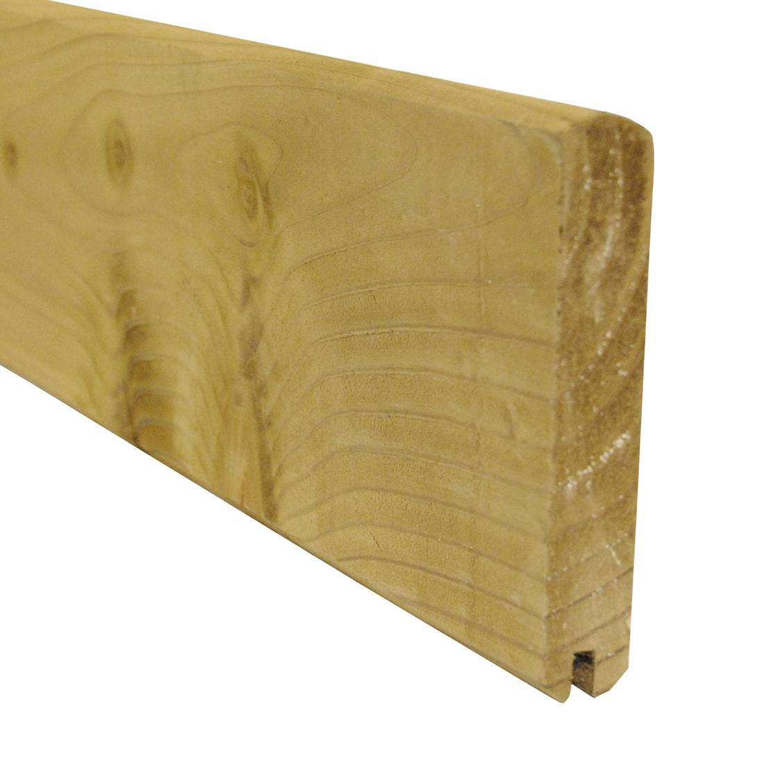 lame de finition cl ture droite 1 95 m en bois autoclave idea bois nicolas. Black Bedroom Furniture Sets. Home Design Ideas