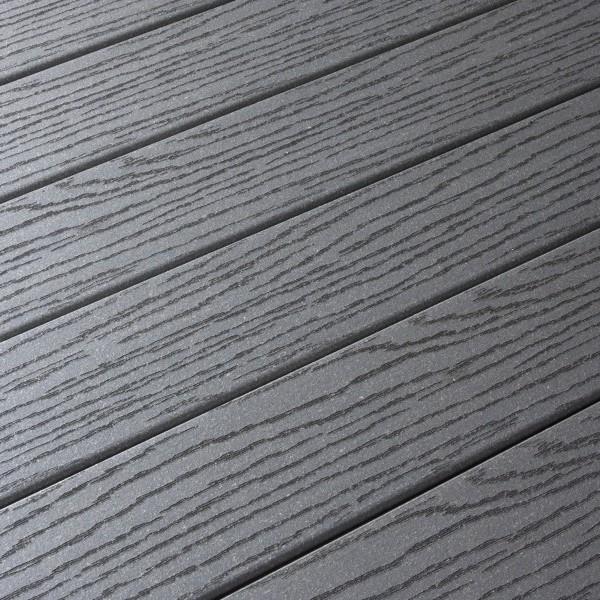 ... Lame Terrasse Composite Fiberon CLASSIC Gris Lunaire 20x127x3050 Mm ...