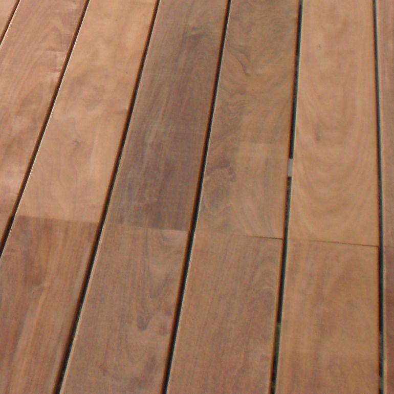 Lames De Terrasse En Ipé Lisse 95x21 Mm Long 1 80 M Idea