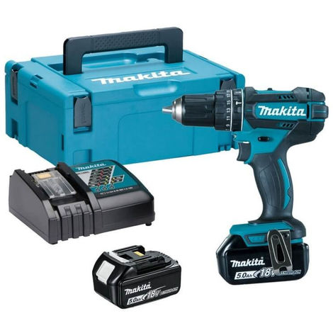 Perceuse visseuse percussion 18v li ion 4ah 13 mm - Visseuse makita 18v ...