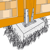 pied de poteau 4 angles sur platine idea bois nicolas. Black Bedroom Furniture Sets. Home Design Ideas