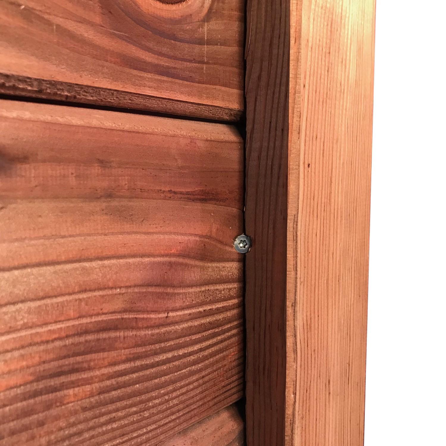 lames de clture emboiter coloris brun palissade bois teint. Black Bedroom Furniture Sets. Home Design Ideas