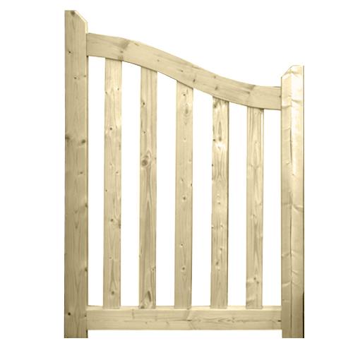 portillon bois brugge 100 cm solid idea bois nicolas