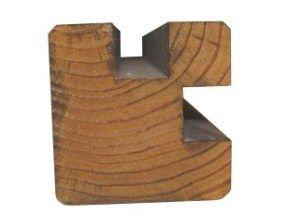 poteau cloture bois autoclave 2 40m idea bois nicolas. Black Bedroom Furniture Sets. Home Design Ideas