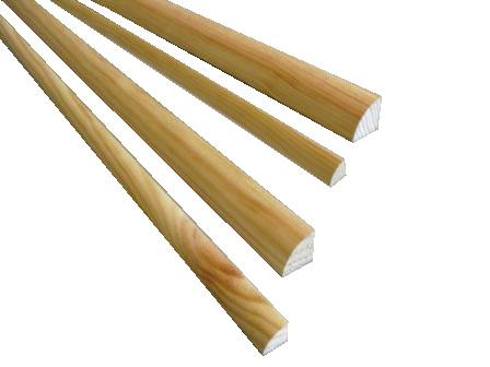 plinthes contre plinthes et quarts de rond en pin idea bois nicolas. Black Bedroom Furniture Sets. Home Design Ideas