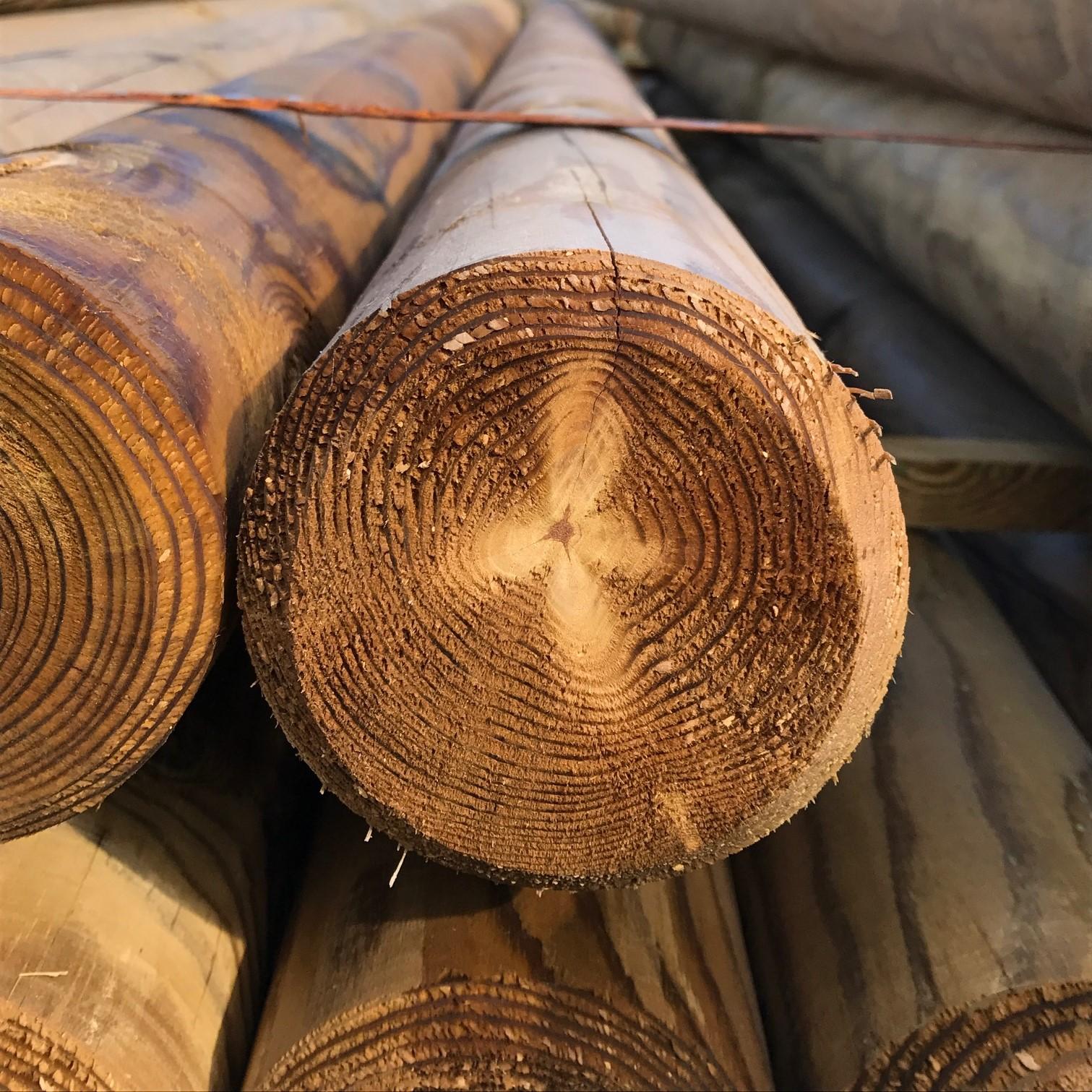 rondins bois autoclave barri re en rondins rondin bois. Black Bedroom Furniture Sets. Home Design Ideas