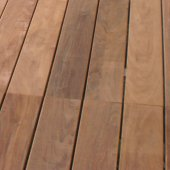 Lames de terrasse en ipé lisse 1200 x 95 x 21 mm